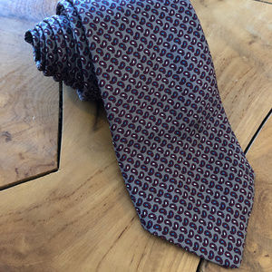 Brooks Brothers Paisley Silk Neck Tie Vintage